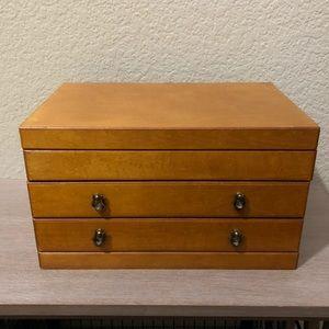 Beautiful Maple Wood Jewelry Box